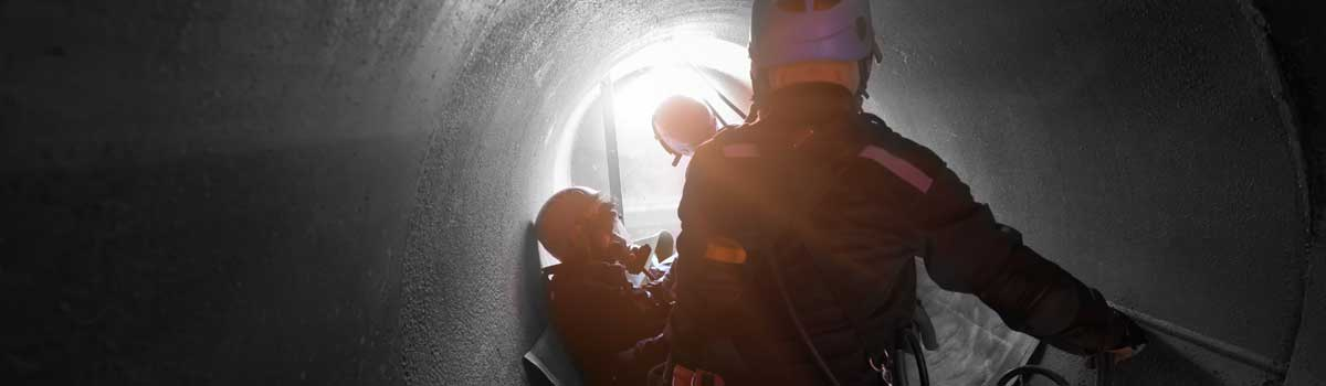 Working in Confined Spaces - Header image